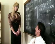 +Favorite Busty Teacher Shyla Stylez Provides Tutoring