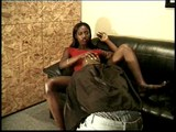 Young black princess gets her hot body nailed