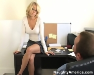 Katie morgan gets fucked in the office